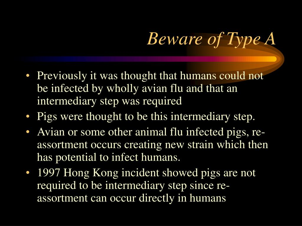 Beware of Type A