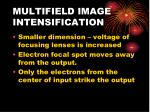 multifield image intensification23
