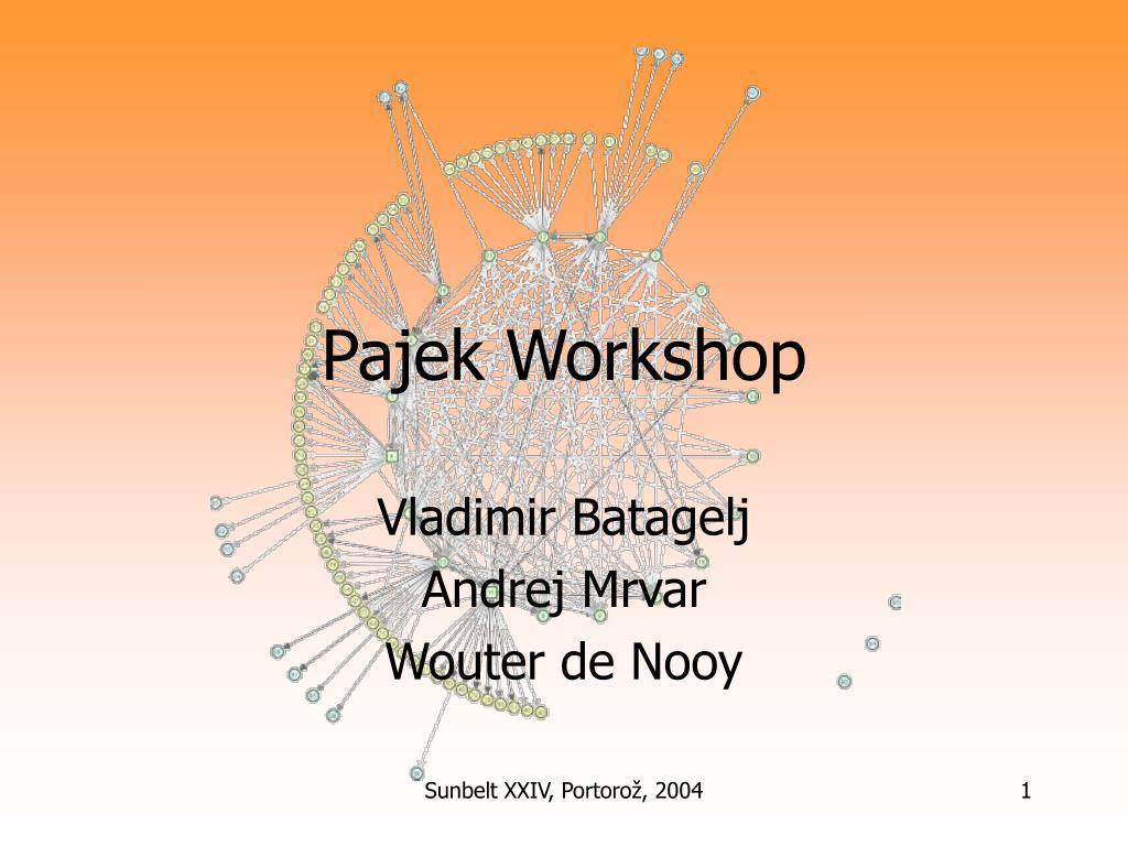 pajek workshop l.
