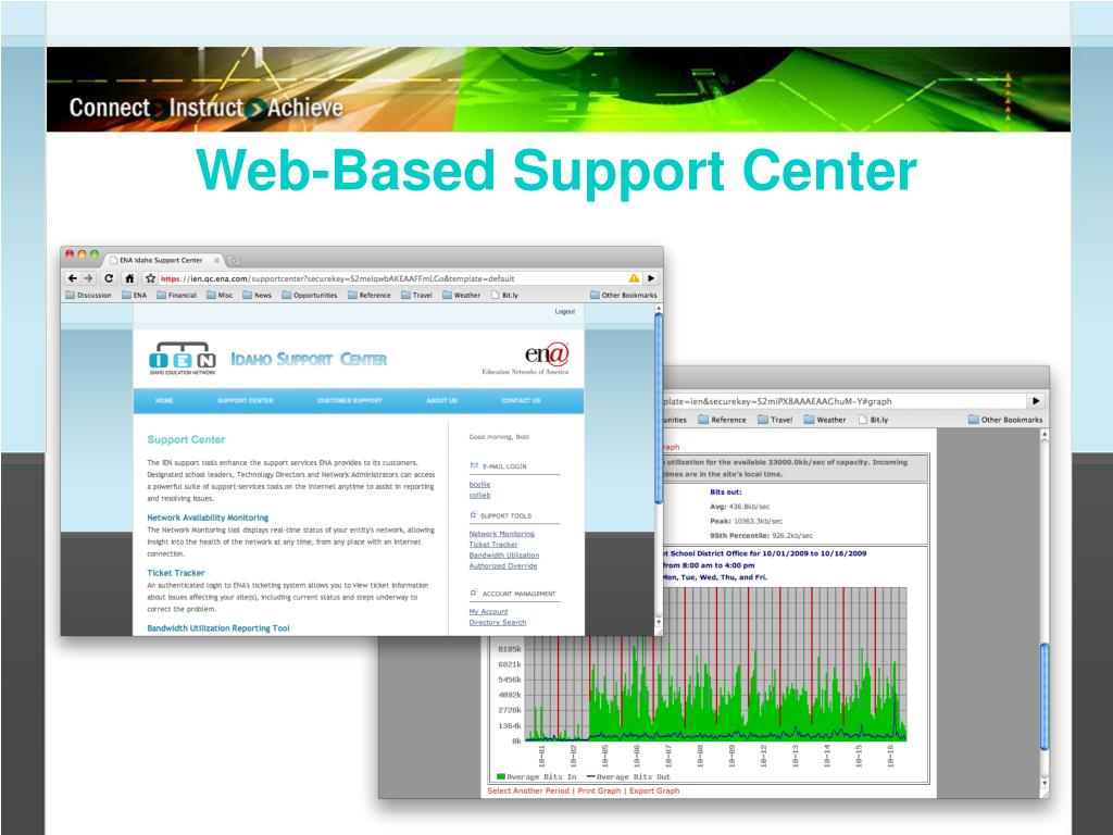 Web-Based Support Center