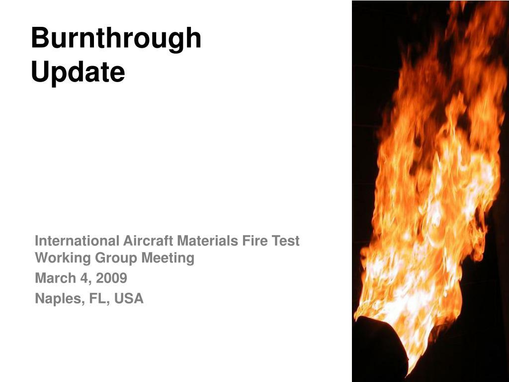 burnthrough update l.