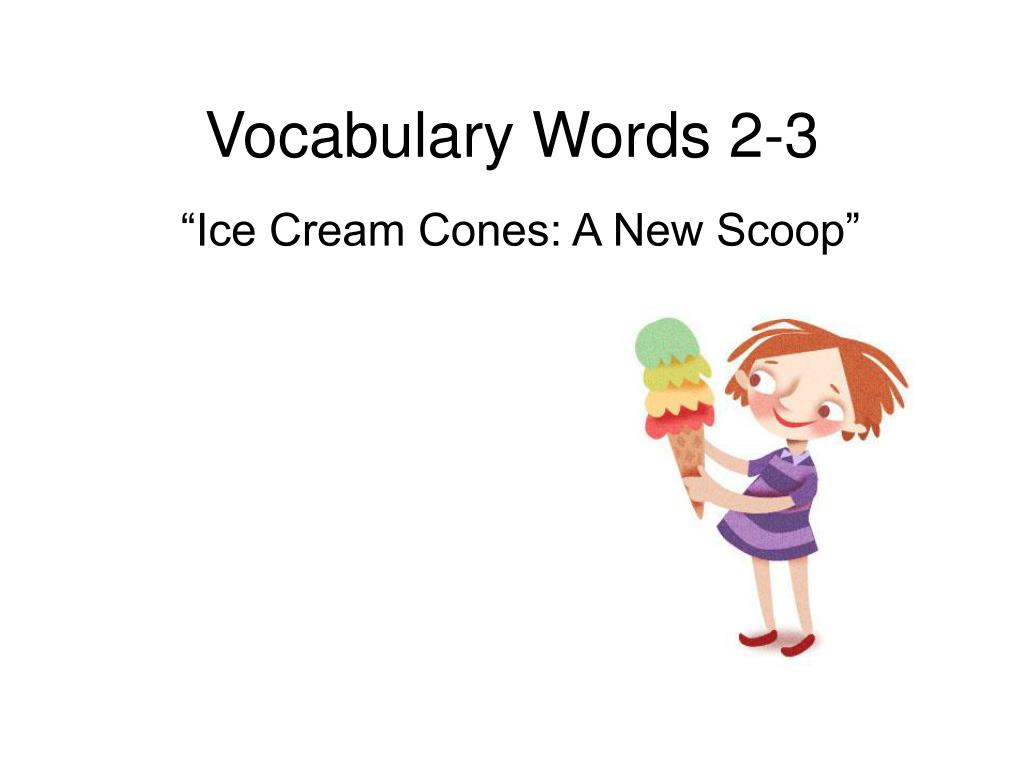 vocabulary words 2 3 l.