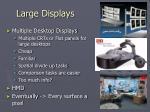 large displays42