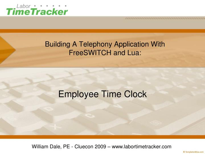 building a telephony application with freeswitch and lua n.