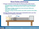 wave pulses and energy