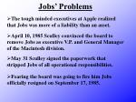 jobs problems