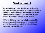 newton project