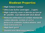 biodiesel properties