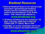 biodiesel resources