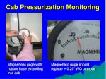 cab pressurization monitoring