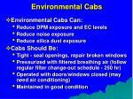 environmental cabs