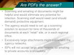are pdfs the answer