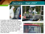 germany sept 2007