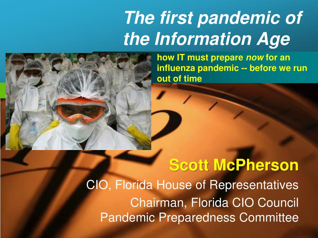 the first pandemic of the information age l.