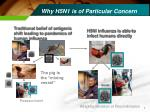 why h5n1 is of particular concern