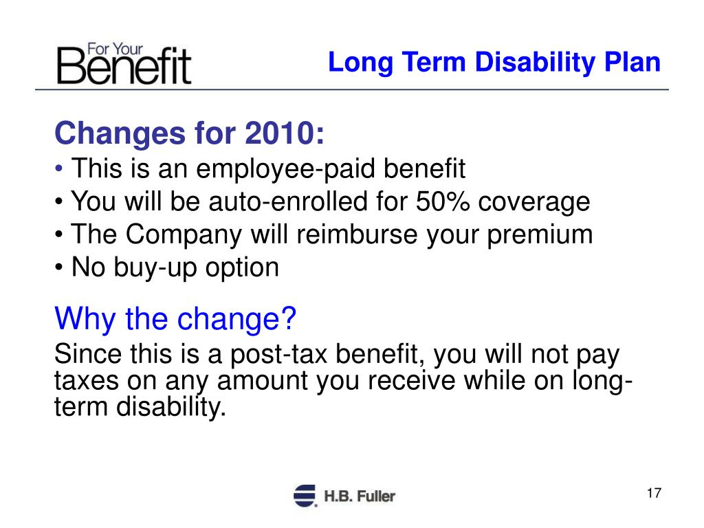 Long Term Disability Plan