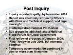 post inquiry