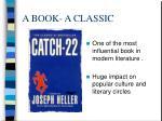 a book a classic