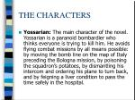 the characters1