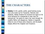 the characters5