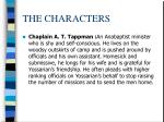 the characters6
