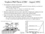 verghese phd thesis cmu august 1995