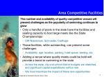 area competitive facilities