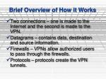 brief overview of how it works