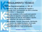 regulamento t cnico