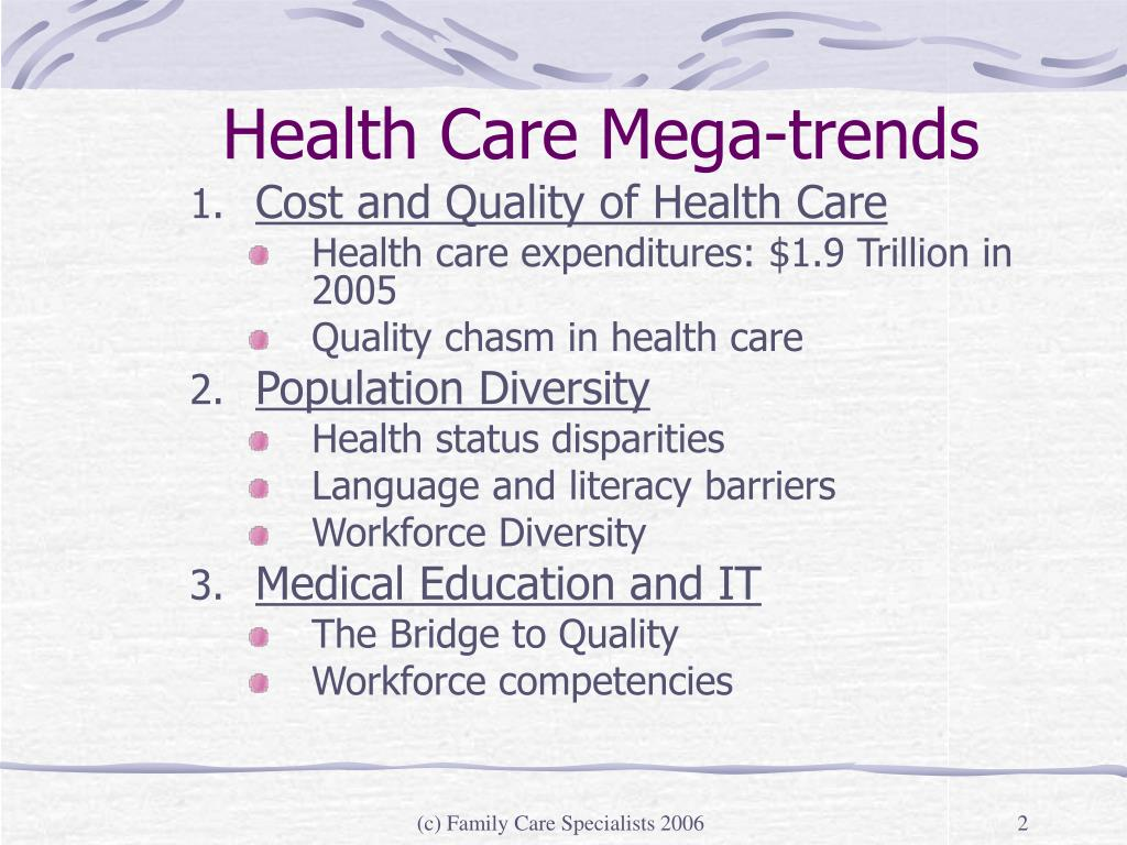 Health Care Mega-trends