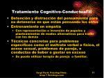tratamiento cognitivo conductual ii