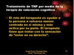 tratamiento de tnp por medio de la terapia de valoraci n cognitiva