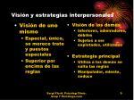 visi n y estrategias interpersonales