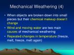 mechanical weathering 4