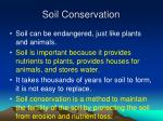soil conservation46