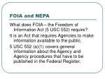 foia and nepa14