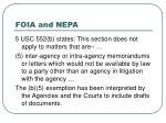 foia and nepa17
