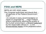foia and nepa18