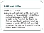 foia and nepa19