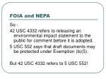 foia and nepa20
