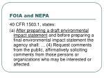 foia and nepa22