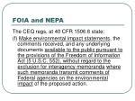 foia and nepa23