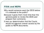 foia and nepa25