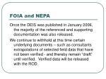 foia and nepa27