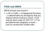 foia and nepa9