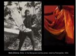 helio oiticica nildo of the mangueira samba group wearing parangol s 1964