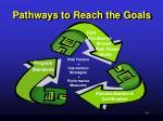 pathways to reach the goals