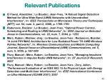 relevant publications33