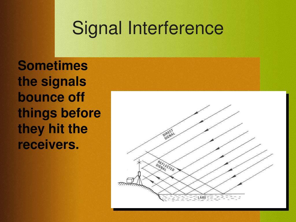 Signal Interference