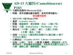 ad 13 cannabinaceae p183